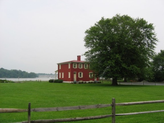 The Lock house at Havre de Grace Maryland
