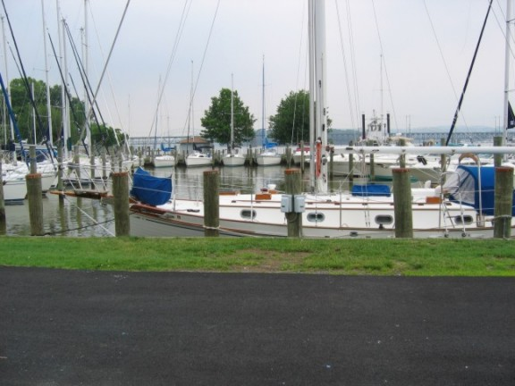 Marina at Havre de Grace Maryland sailing on Chesapeake Bay
